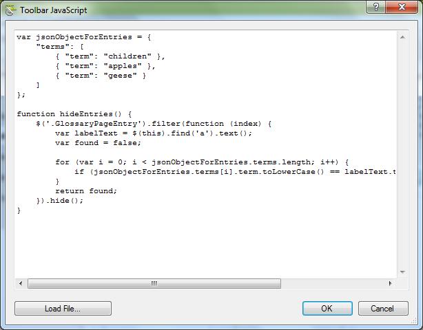 ToolbarJavaScript