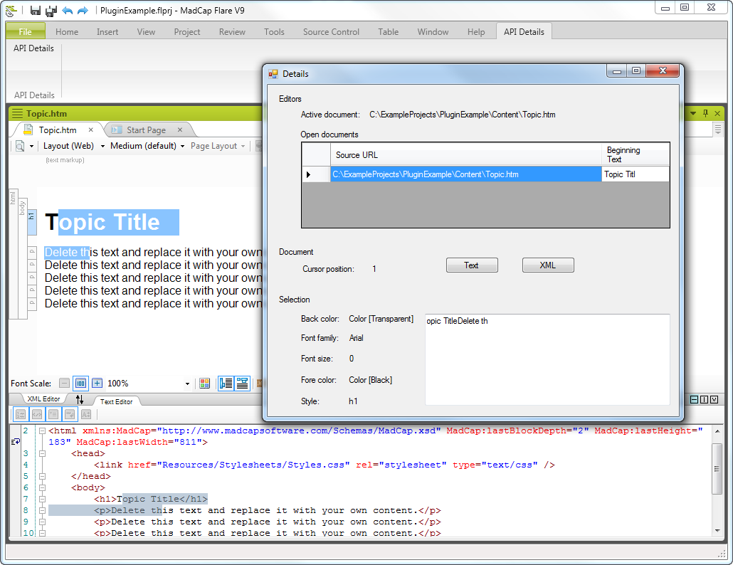 first-plugin-ribbon-details-screen